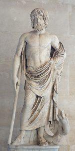 Estatua de Asclepios. Copia romana del siglo II.