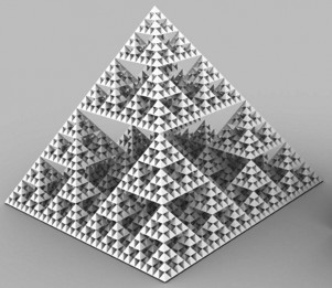 Pirámide fractal