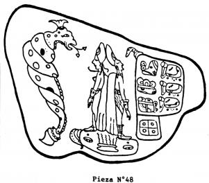 Códice Porrúa - pieza 48