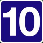 Simbolismo de… el número 10