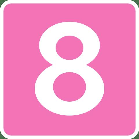 eight clipart