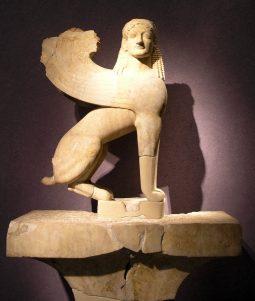 Nueva Acrópolis símbolo Esfinge