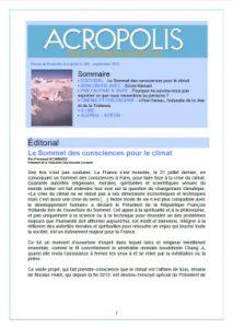 Revue Acropolis 266