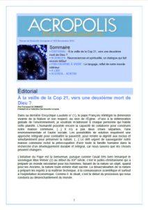 Nouvelle Acropole - Revue 268