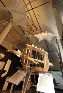 Nueva Acrópolis - máquinas de Leonardo