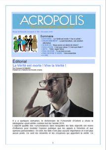 Revue Acropolis - Diciembre 2016