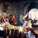 Anécdotas filosóficas: Xantipa se apena por la muerte de Sócrates
