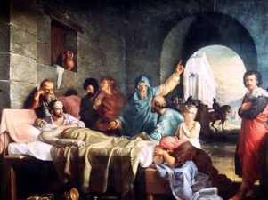 Nueva Acrópolis - La muerte de Sócrates