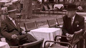 Rafael el Gallo y José Ortega y Gasset