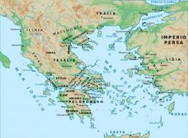 Nueva Acrópolis - Mapa antigua Grecia