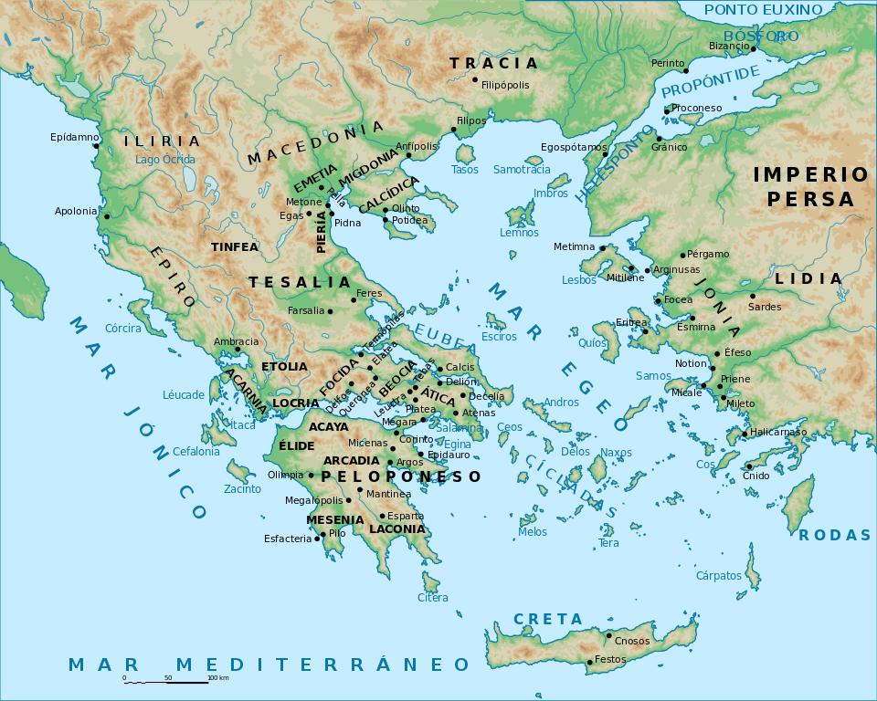 Los antros iniciáticos de la antigua Grecia - Biblioteca