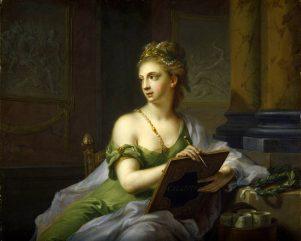 Calíope, la musa de la Poesía Épica