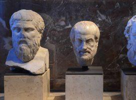 Platón, Aristóteles y Sócrates