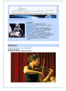 Revue Acropole - Abril 2019