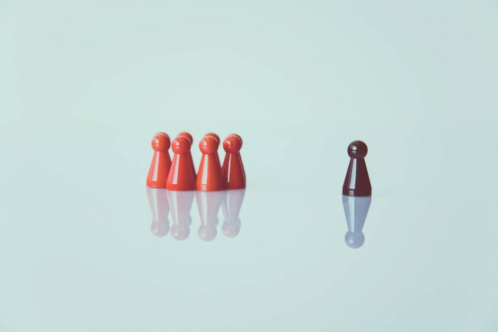 alegoría del racismo