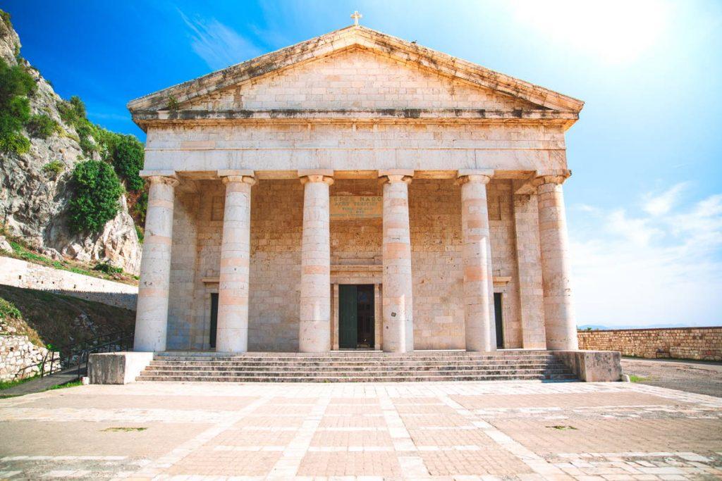 Templo de Corfú (Grecia)