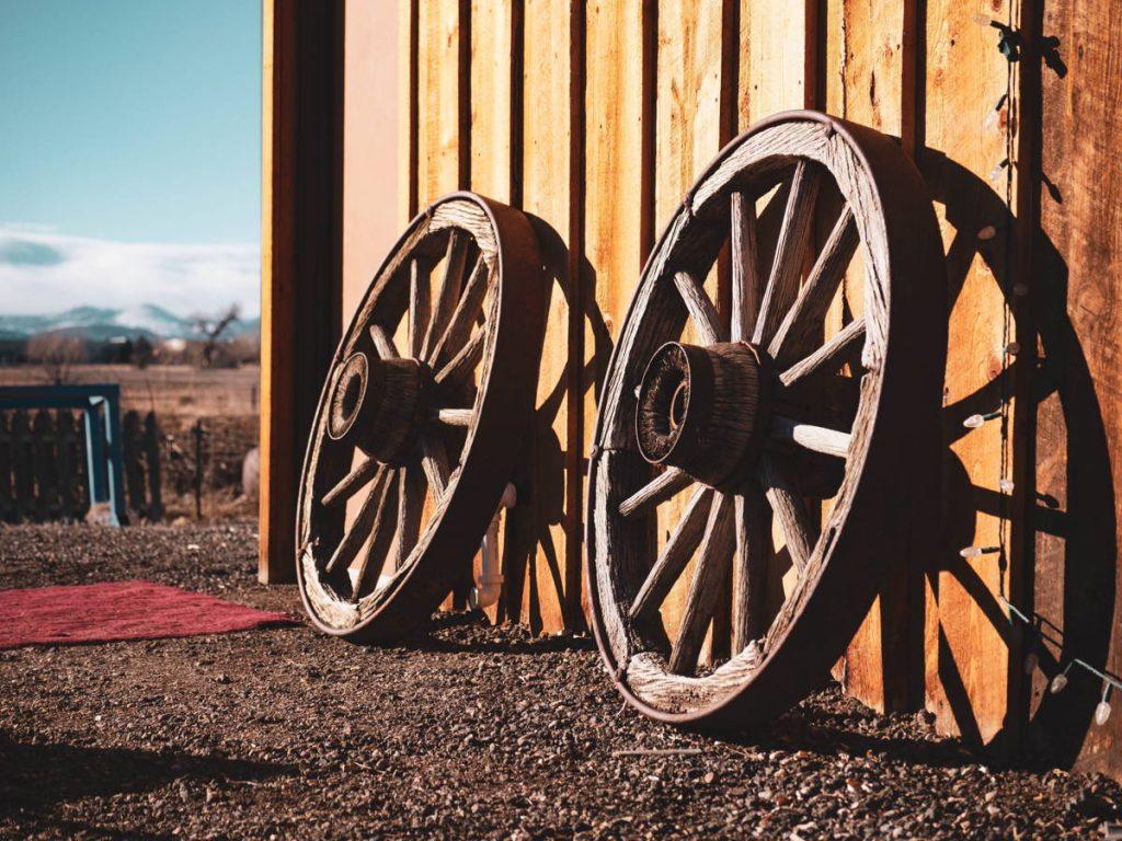 símbolo rueda