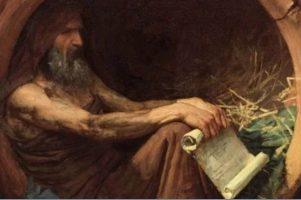 Diógenes y la pobreza