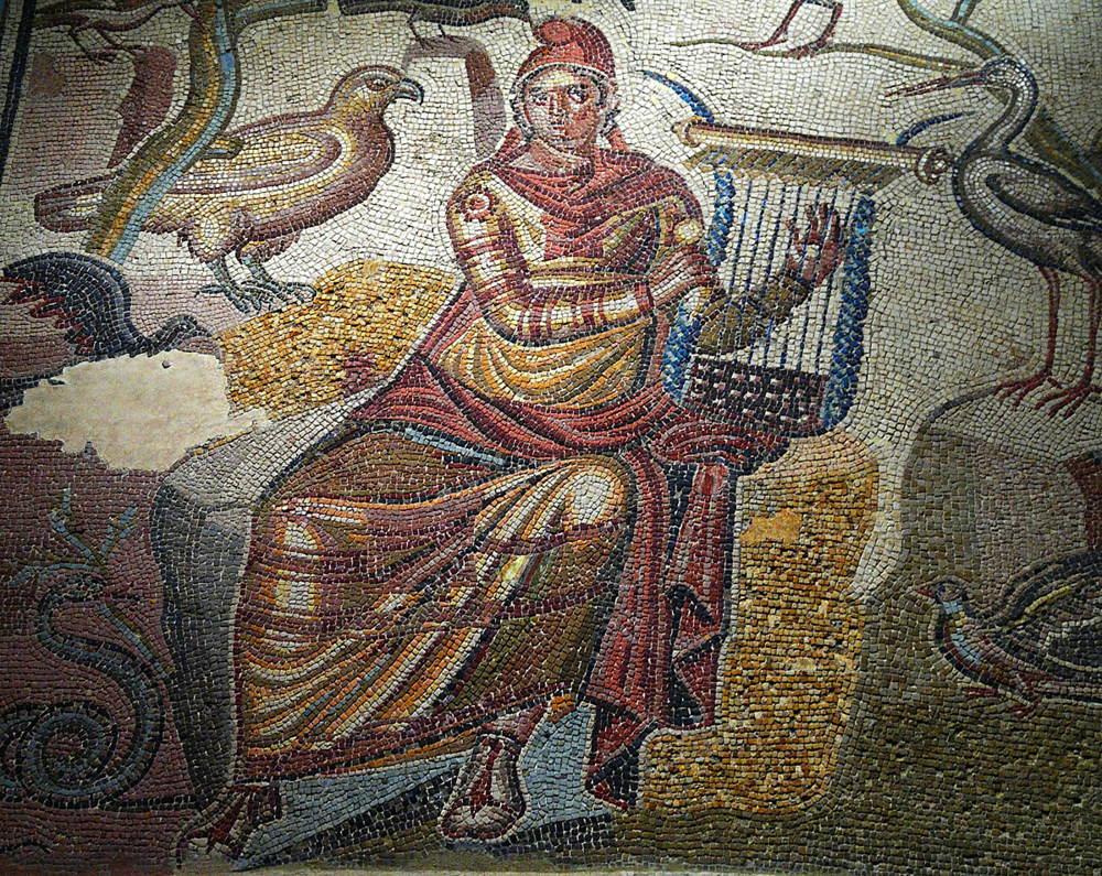 Mosaico de Orfeo